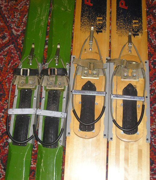Лыжи охотничьи из фанеры